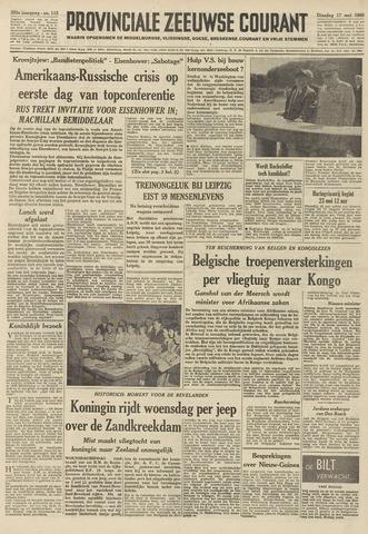 Provinciale Zeeuwse Courant 1960-05-17