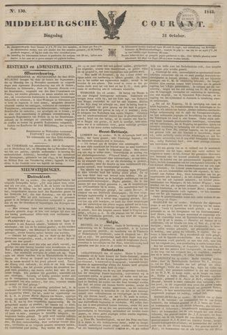 Middelburgsche Courant 1843-10-31