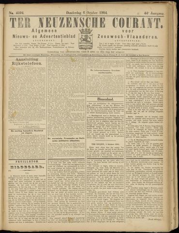 Ter Neuzensche Courant. Algemeen Nieuws- en Advertentieblad voor Zeeuwsch-Vlaanderen / Neuzensche Courant ... (idem) / (Algemeen) nieuws en advertentieblad voor Zeeuwsch-Vlaanderen 1904-10-06
