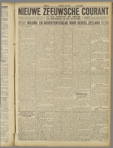 Nieuwe Zeeuwsche Courant 1925-07-07
