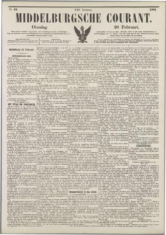 Middelburgsche Courant 1901-02-26