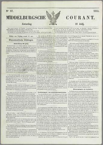 Middelburgsche Courant 1855-07-21
