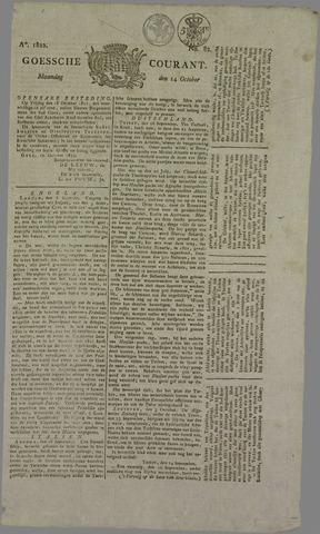 Goessche Courant 1822-10-14