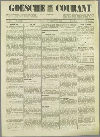 Goessche Courant 1932-08-11