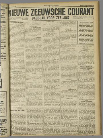 Nieuwe Zeeuwsche Courant 1920-07-06