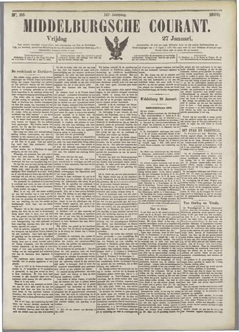 Middelburgsche Courant 1899-01-27