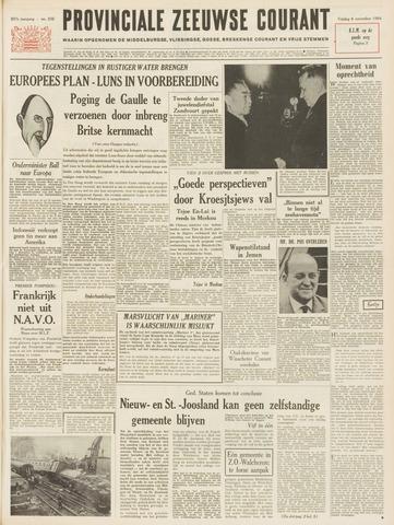 Provinciale Zeeuwse Courant 1964-11-06