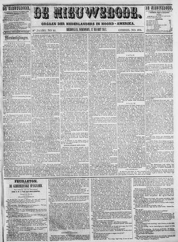 Sheboygan Nieuwsbode 1857-03-17