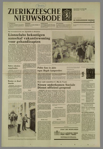 Zierikzeesche Nieuwsbode 1983-06-13