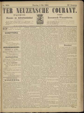Ter Neuzensche Courant. Algemeen Nieuws- en Advertentieblad voor Zeeuwsch-Vlaanderen / Neuzensche Courant ... (idem) / (Algemeen) nieuws en advertentieblad voor Zeeuwsch-Vlaanderen 1894-05-05