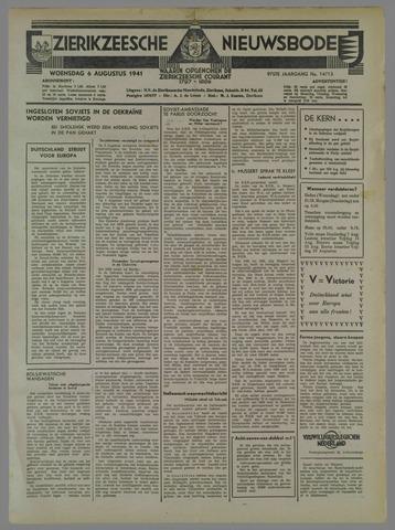 Zierikzeesche Nieuwsbode 1941-08-07