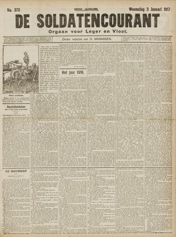 De Soldatencourant. Orgaan voor Leger en Vloot 1917