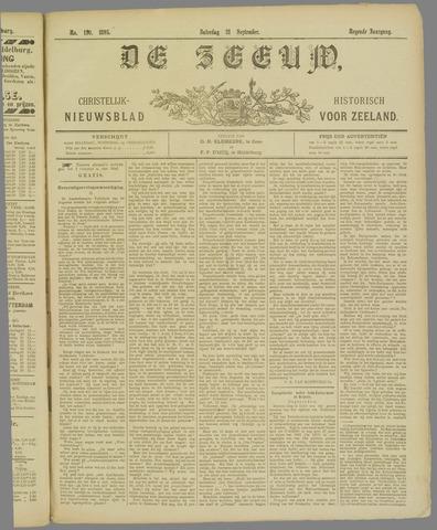 De Zeeuw. Christelijk-historisch nieuwsblad voor Zeeland 1895-09-21