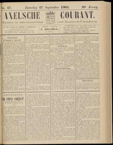 Axelsche Courant 1904-09-17