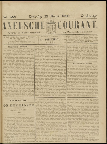 Axelsche Courant 1890-03-29