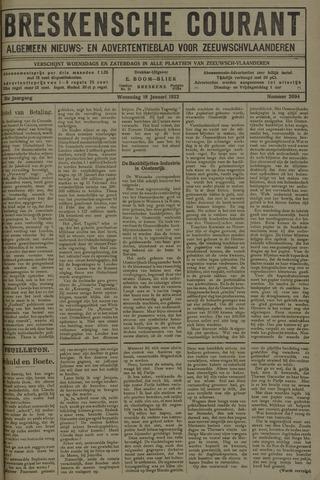 Breskensche Courant 1922-01-18