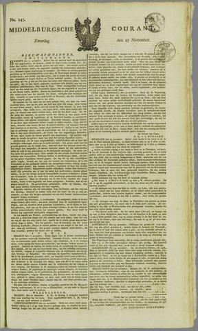 Middelburgsche Courant 1824-11-27