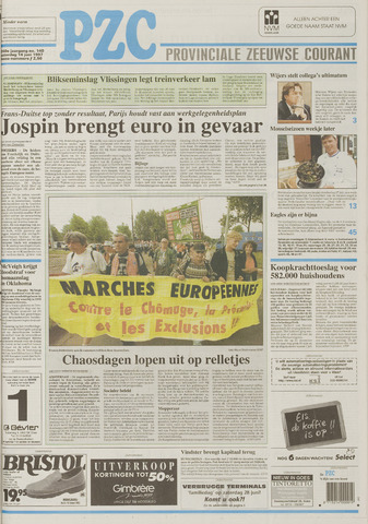 Provinciale Zeeuwse Courant 1997-06-14
