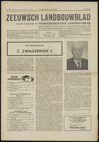 Zeeuwsch landbouwblad ... ZLM land- en tuinbouwblad 1953-07-11