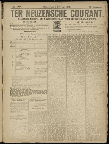 Ter Neuzensche Courant. Algemeen Nieuws- en Advertentieblad voor Zeeuwsch-Vlaanderen / Neuzensche Courant ... (idem) / (Algemeen) nieuws en advertentieblad voor Zeeuwsch-Vlaanderen 1919-02-06