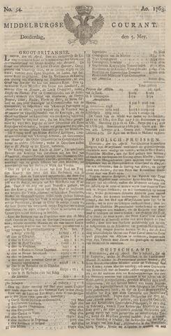 Middelburgsche Courant 1763-05-05
