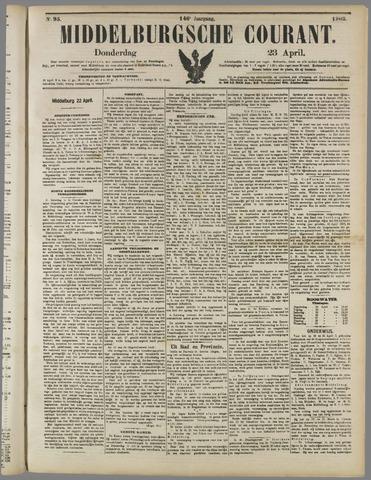 Middelburgsche Courant 1903-04-23