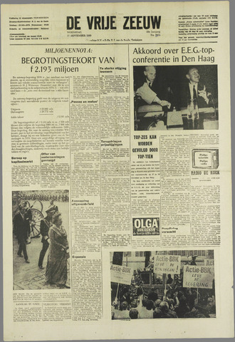de Vrije Zeeuw 1969-09-17