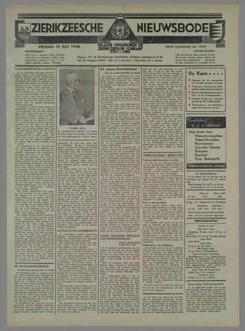 Zierikzeesche Nieuwsbode 1940-07-19