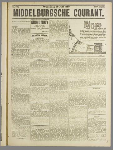 Middelburgsche Courant 1927-07-20