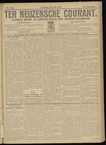 Ter Neuzensche Courant. Algemeen Nieuws- en Advertentieblad voor Zeeuwsch-Vlaanderen / Neuzensche Courant ... (idem) / (Algemeen) nieuws en advertentieblad voor Zeeuwsch-Vlaanderen 1914-06-30