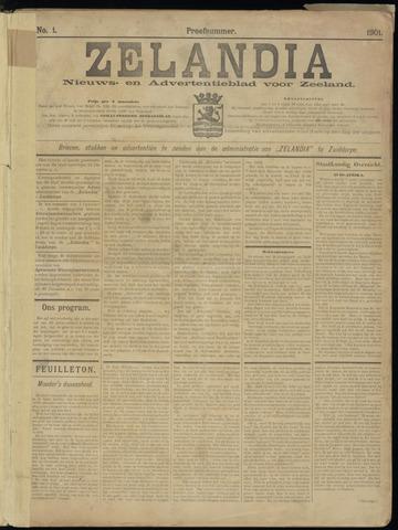 Zelandia. Nieuws-en advertentieblad voor Zeeland | edities: Het Land van Hulst en De Vier Ambachten 1901-12-20