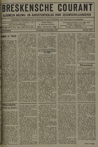 Breskensche Courant 1921-09-28