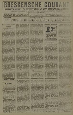 Breskensche Courant 1927-10-01