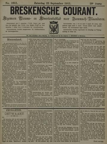 Breskensche Courant 1911-09-23