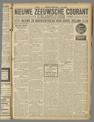 Nieuwe Zeeuwsche Courant 1924-02-23