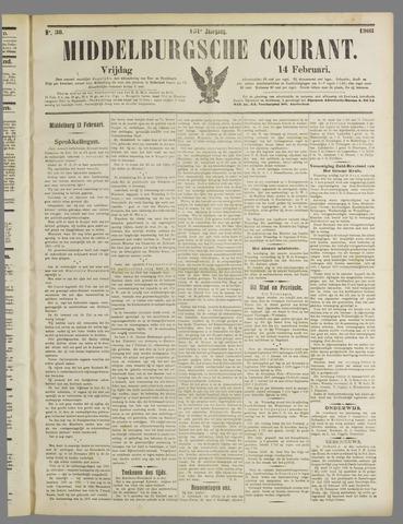 Middelburgsche Courant 1908-02-14