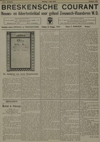 Breskensche Courant 1936-04-07