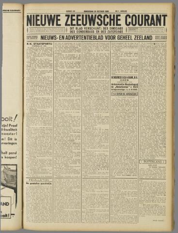 Nieuwe Zeeuwsche Courant 1930-10-23