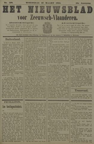 Nieuwsblad voor Zeeuwsch-Vlaanderen 1901-03-27
