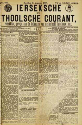 Ierseksche en Thoolsche Courant 1908-08-15