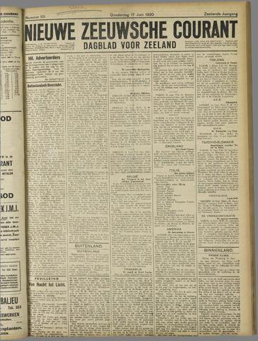 Nieuwe Zeeuwsche Courant 1920-06-17