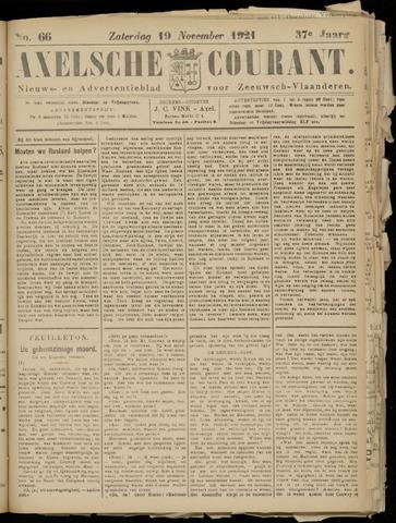 Axelsche Courant 1921-11-19