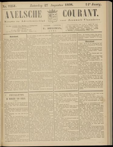 Axelsche Courant 1898-08-27