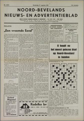 Noord-Bevelands Nieuws- en advertentieblad 1981-08-27