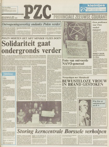 Provinciale Zeeuwse Courant 1981-12-28