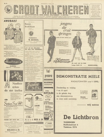 Groot Walcheren 1964-04-09