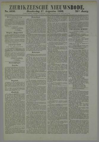 Zierikzeesche Nieuwsbode 1882-08-17