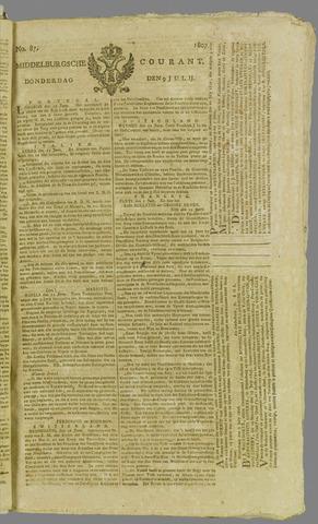 Middelburgsche Courant 1807-07-09