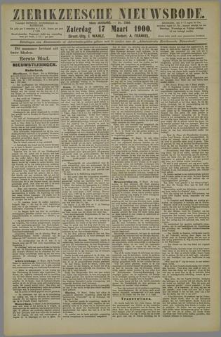 Zierikzeesche Nieuwsbode 1900-03-17