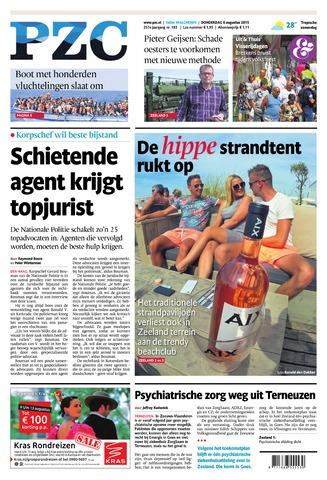 Provinciale Zeeuwse Courant 2015-08-06